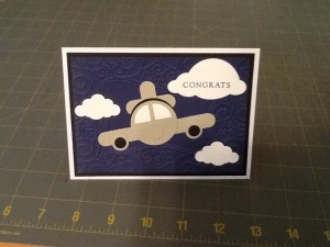 Airplane Card by Ronda Cassens